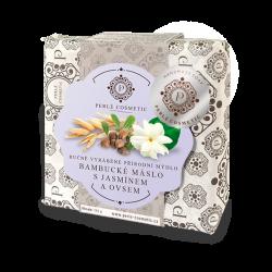 Natural bambucké máslo & oves & jasmín