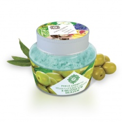 Tělový cukrový peeling s olivovým olejem